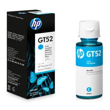 HP č.GT52, M0H54AE azúrová (cyan) originálny samostatný atrament