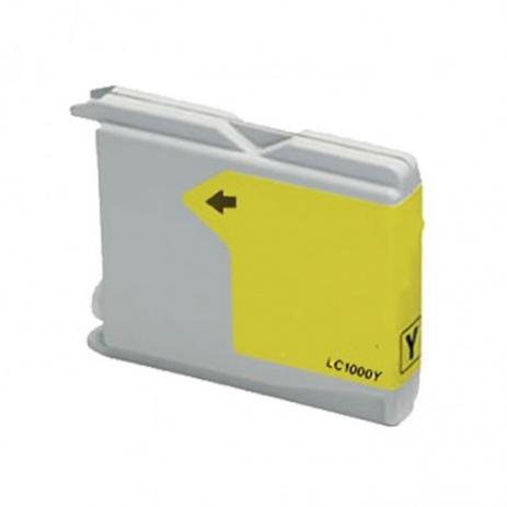Brother LC-970 / LC-1000Y žltá (yellow) kompatibilná cartridge