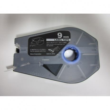 Kompatibilná samolepiaca páska pre Canon M-1 Std/M-1 Pro / Partex, 9mm x 30m, kazeta, strieborná