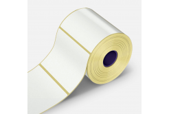 Samolepicí etikety 30x15 mm, 2000 ks, papírové pro TTR, role