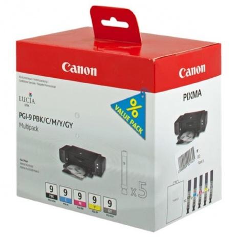 Canon PGI-9 PBK / C / M / Y / GY multipack tusz oryginalna