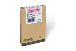 Epson T603600 světle purpurová (light vivid magenta) originální cartridge