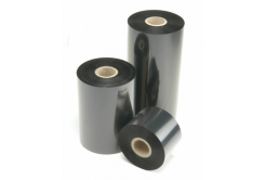 "TTR páska, vosková (wax), 70mm x 74m, 1/2"", OUT, čierna"
