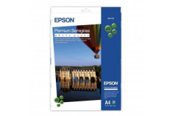 Epson C13S041332 Premium Semigloss Photo Paper, foto papír, pololesklý, bílý, Stylus Photo 880, 2100, A4,