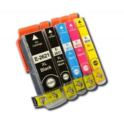 Epson T2636 multipack kompatibilní cartridge