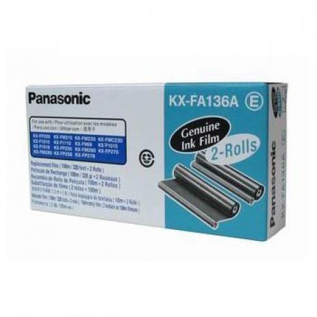 Panasonic KX-FA136A / E, 2*100m, folii de fax original
