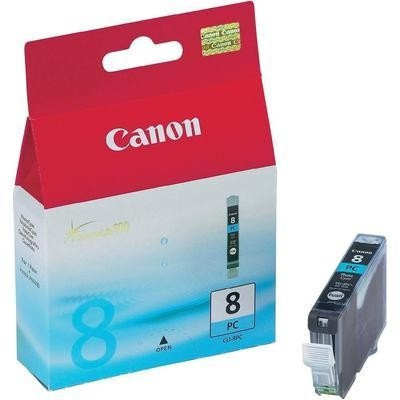 Canon CLI-8PC photo azurová (photo cyan) originální cartridge, výprodej
