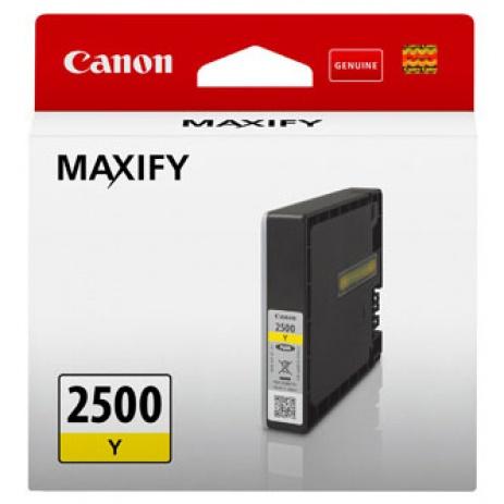 Canon original ink cartridge PGI-2500 Y, yellow, 9.6ml, 9303B001, Canon MAXIFY iB4050,iB4150,MB5050,MB5150,MB5350,MB5450