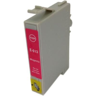Epson T0613 purpurová (magenta) kompatibilní cartridge