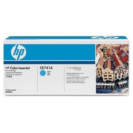 HP 307A CE741A azuriu (cyan) toner original