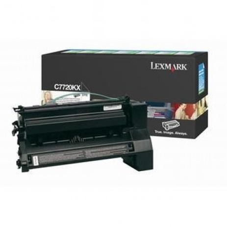 Lexmark C7720KX negru toner original