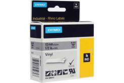 Dymo Rhino 1805413, 12mm x 5,5m, černý tisk/šedý podklad, originální páska