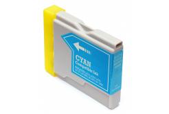 Brother LC-970 / LC-1000C azúrová (cyan) kompatibilná cartridge