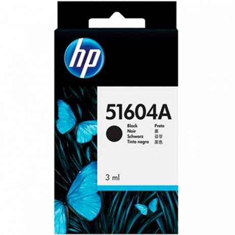 HP 51604A fekete (black) eredeti tintapatron