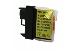 Brother LC-980/LC-1100 žltá (yellow) kompatibilná cartridge