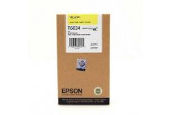 Epson T603400 žlutá (yellow) originální cartridge