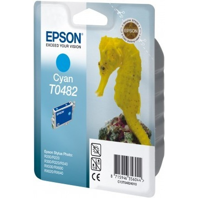 Epson T048240 azurová (cyan) originální cartridge