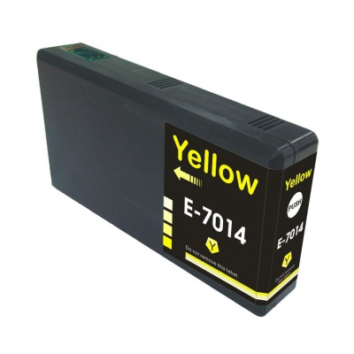 Epson T7014 žlutá (yellow) kompatibilní cartridge