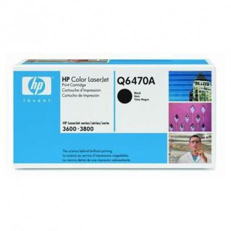 HP 502A Q6470A negru toner original