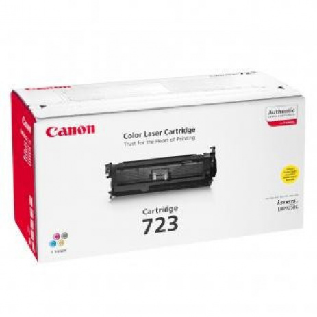 Canon CRG-723 yellow original toner