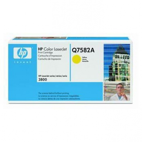 HP 503A Q7582A yellow original toner