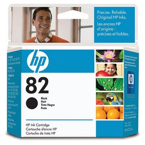 HP 82 CH565A negru (black) cartus original