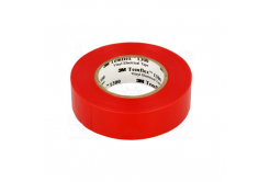 3M Temflex 1300 Elektroizolační páska, 15 mm x 10 m, červená