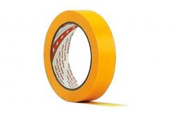 3M 244 Maskovací páska žlutá, 24 mm x 50 m