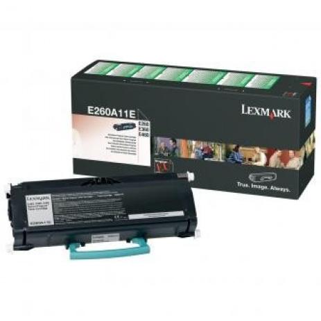 Lexmark E260A11E negru toner original