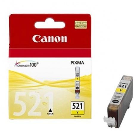 Canon CLI-521Y sárga (yellow) eredeti tintapatron