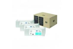 HP 83 C5073A 3ks azurová (cyan) originální cartridge
