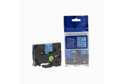 Kompatibilní páska s Brother TZ-531 / TZe-531, 12mm x 8m, černý tisk / modrý podklad