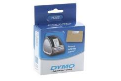 Dymo 11352, S0722520, 25mm x 54mm, bílé papírové štítky pro zpáteční adresu