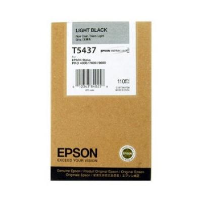 Epson T543700 šedá (grey) originální cartridge