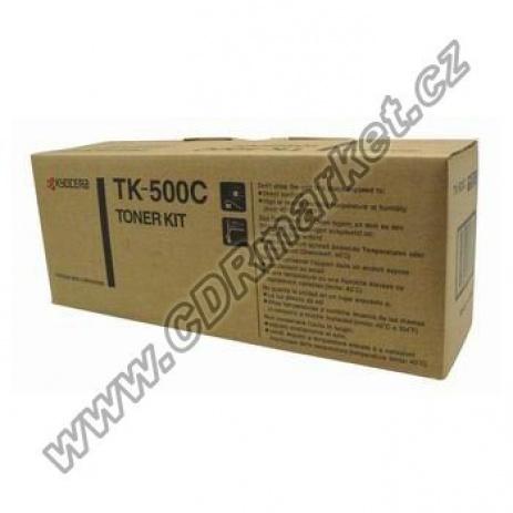 Kyocera Mita TK-500C cián (cyan) eredeti toner