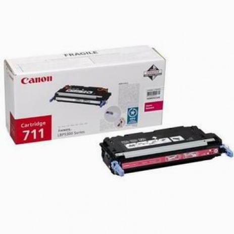 Canon CRG-711 bíborvörös (magenta) eredeti toner