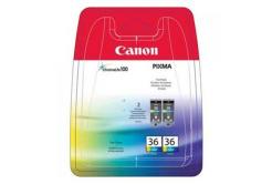 Canon CLI36, 1511B018 barevná (color) dualpack originální cartridge