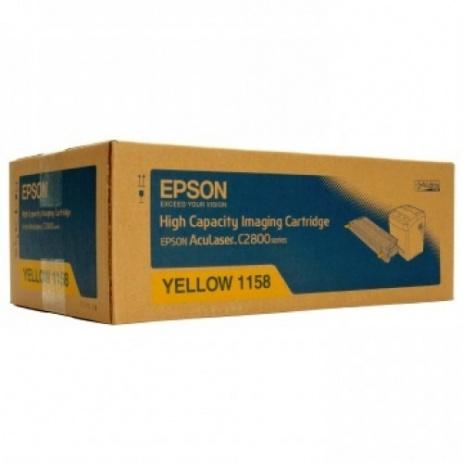 Epson C13S051158 sárga (yellow) eredeti toner