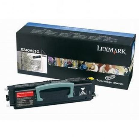 Lexmark X340H21G fekete (black) eredeti toner