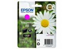 Epson C13T18034020 purpurová (magenta) originální cartridge