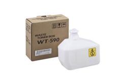 Kyocera originální odpadní nádobka WT-590, 15000str., 302KV93110, Kyocera FS-C2026MFP/C2126MFP/C2626MFP, P6021cdn/P6026cdn