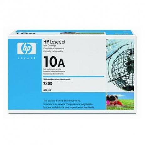 HP 10A Q2610A fekete (black) eredeti toner
