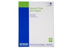 Epson S042096 Velvet Fine Art Paper, um?lecký papír, sametový, bílý, A2, 260 g/m2, 25 ks, S042096,