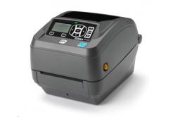 Zebra ZD500R ZD50042-T1E3R2FZ tiskárna štítků, 8 dots/mm (203 dpi), odlepovač, RTC, RFID, ZPLII, BT, Wi-Fi, multi-IF (Ethernet)