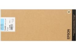 Epson T549500 svetle azúrová (light cyan) originálna cartridge