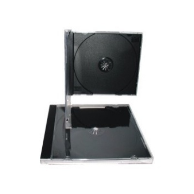 BOX na 1CD černý tray