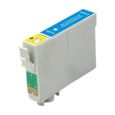 Epson T0612 azurová (cyan) kompatibilní cartridge
