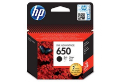 HP 650 CZ101AE černá (black) originální cartridge