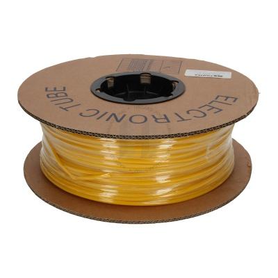 Popisovací PVC bužírka kruhová BA-30Z, 3 mm, 200 m, žlutá