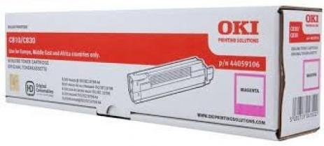 OKI 44059106 bíborvörös (magenta) eredeti toner